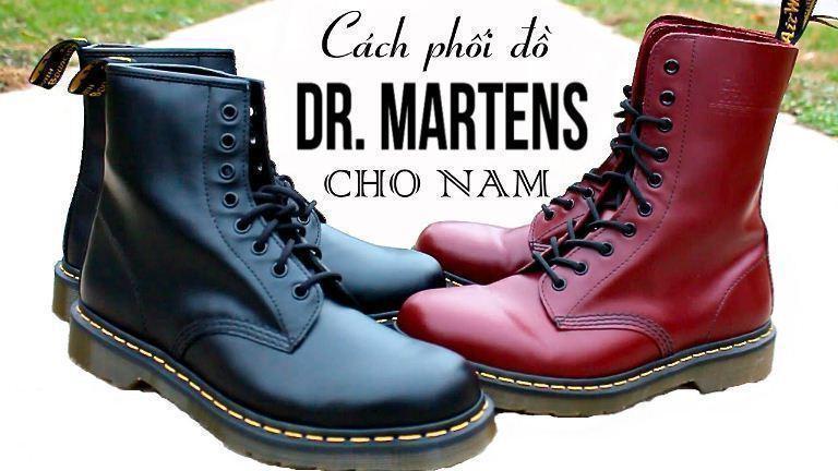 cách phối đồ với giày dr marten