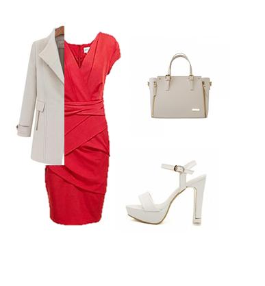 Phối đồ vừa thời trang vừa đem lại may mắn cho nữ mệnh hỏa.