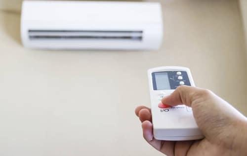tăng nhiệt độ phòng nhờ điều hòa nhiệt độ
