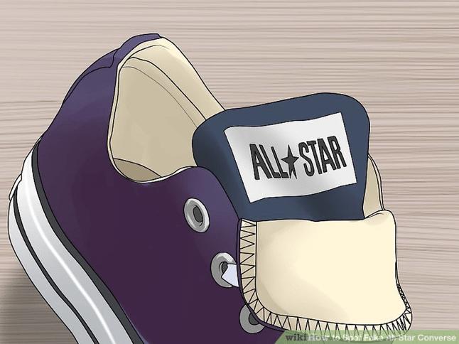 phân biệt giày converse thật giả